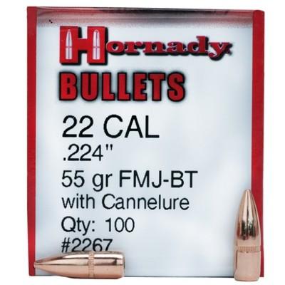 .224 VM BT 55gr Hornady 2267
