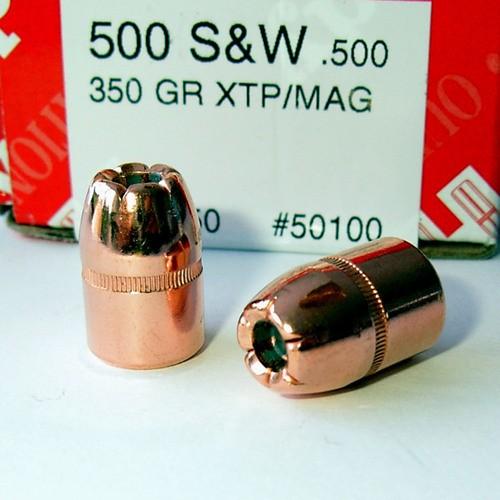 .500 HP 350gr Hornady XTP-MAG 50100