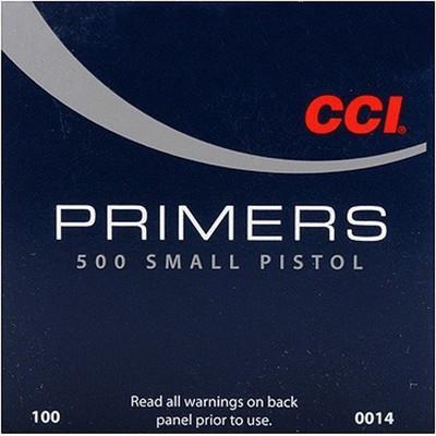 CCI 500 Small Pistol - Zündhütchen