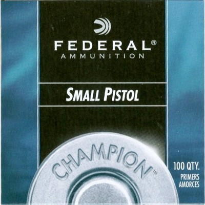 FEDERAL 100 Small Pistol - Zündhütchen