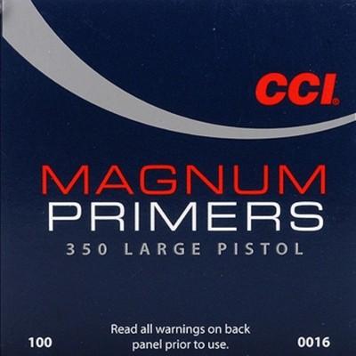 CCI 350 Large Pistol Magnum - Zündhütchen