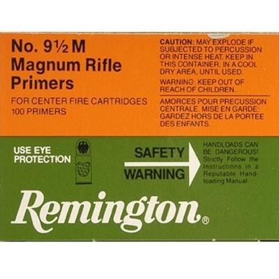 REMINGTON 9½ Large Rifle Magnum - Zündhütchen