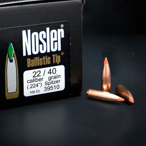 .224 Ballistic Tip 40gr Nosler 39510