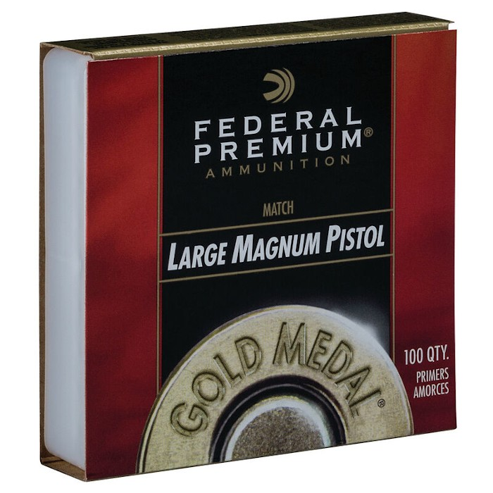 FEDERAL 155 Large Pistol Magnum Gold Medal Match - Zündhütchen