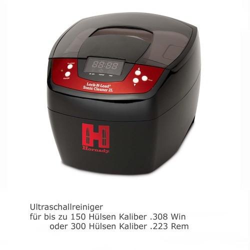 Ultraschallreiniger HORNADY Sonic (max. 150 .308er Hülsen)